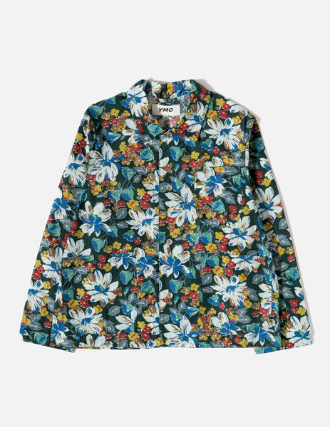 YMC Waxed Labour Chore Jacket - Multi Floral