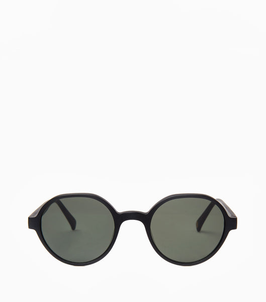 YMC SIGI SUNGLASSES - MATT BLACK Sunglasses - CARTOCON