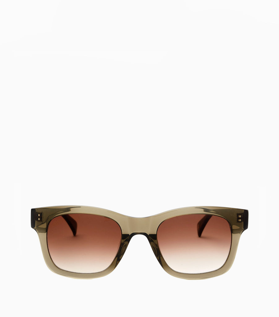 YMC Simon Sunglasses - Olive Crystal
