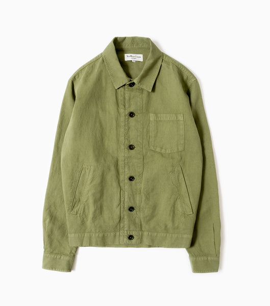 YMC Bowling Jacket - Olive Green Jacket - CARTOCON