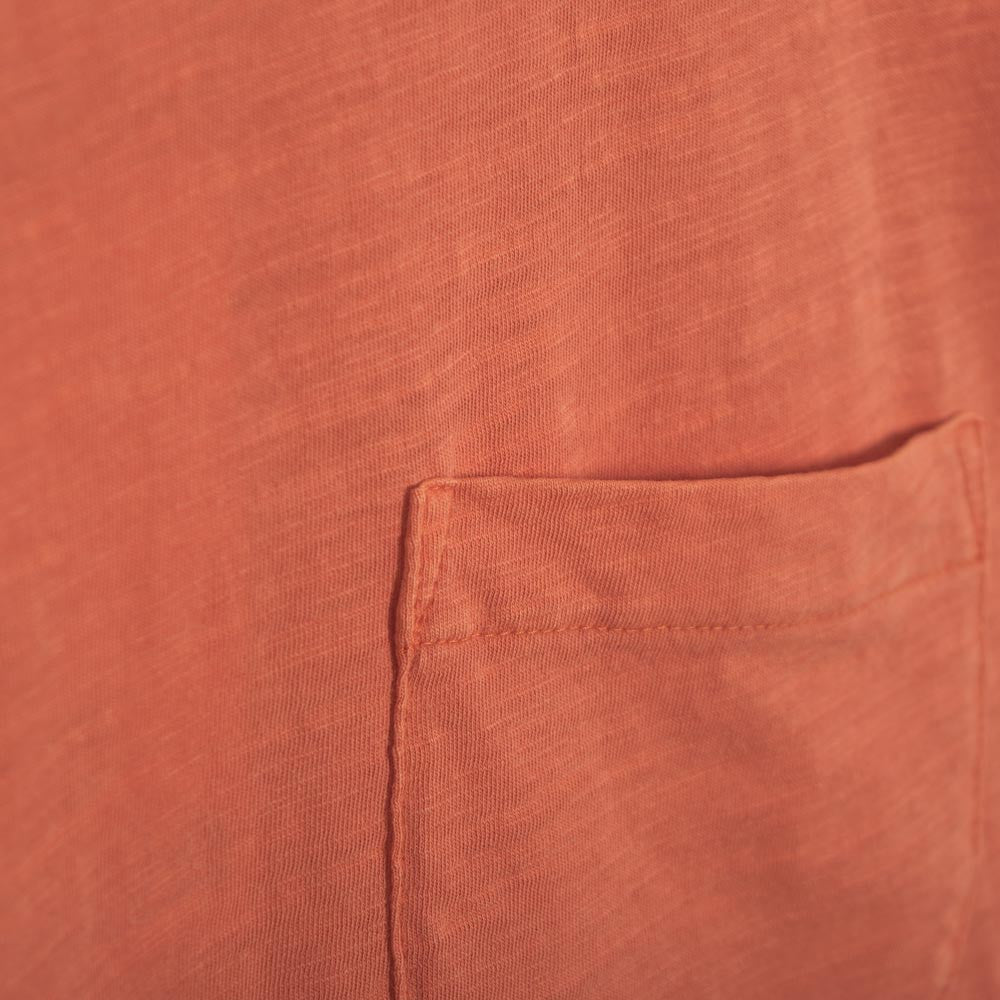 YMC Wild Ones Pocket T-Shirt - Orange - 2