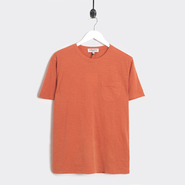 YMC Wild Ones Pocket T-Shirt - Orange - 1