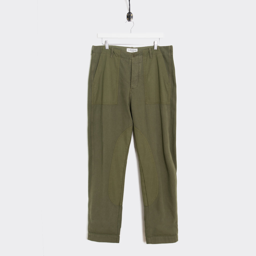 YMC Nam Patch Ripstop Trouser - Olive