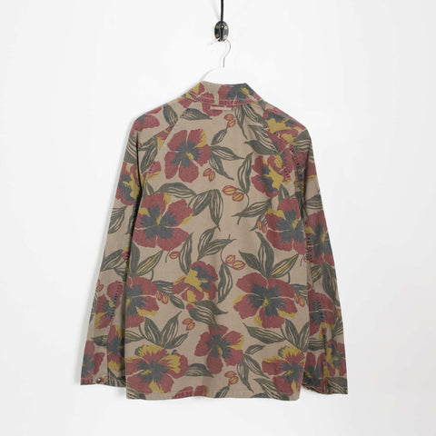 YMC Luke Jungle Chambray USN Jacket - Olive Green  - CARTOCON