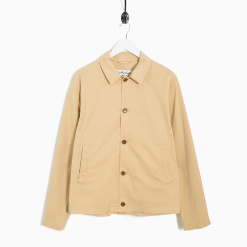 YMC Groundhogs Cotton Twill Jacket - Khaki  - CARTOCON