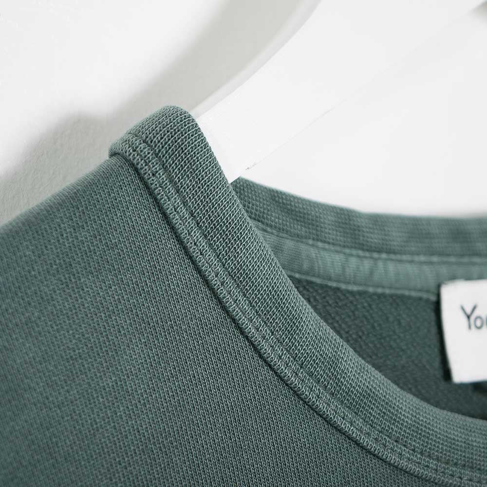 YMC Almost Grown Sweatshirt - Green - 4