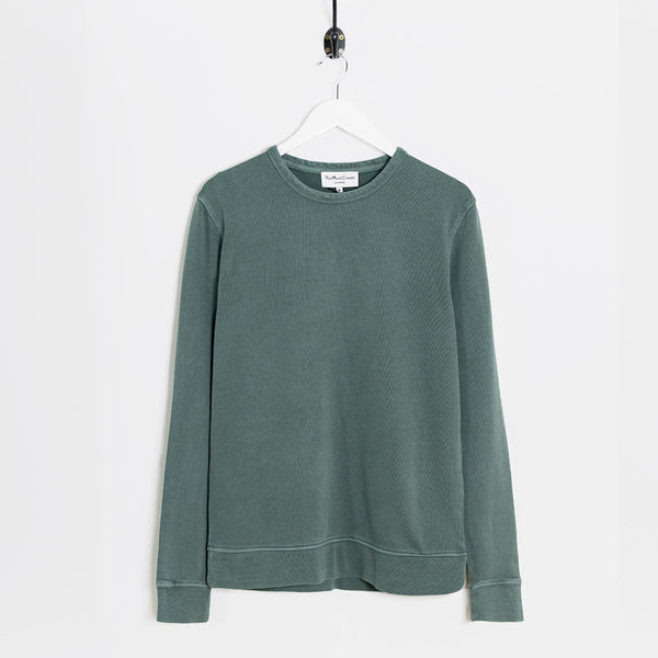 YMC Almost Grown Sweatshirt - Green - 1