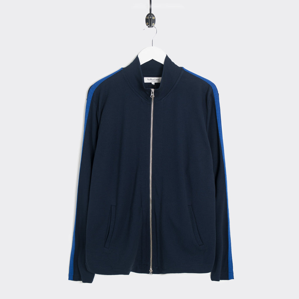 YMC B Boy Double Knit Jacket - Navy/Royal - 1
