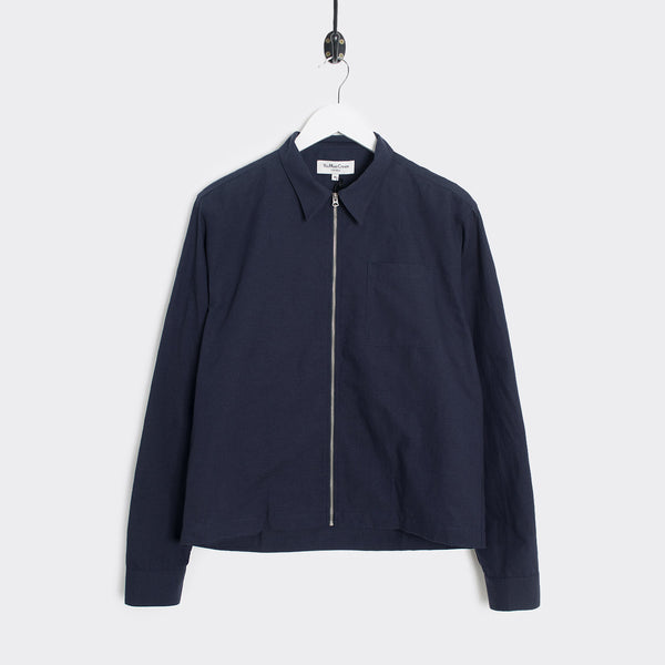 YMC Bowie Harajuku Cotton Shirt - Navy - 1