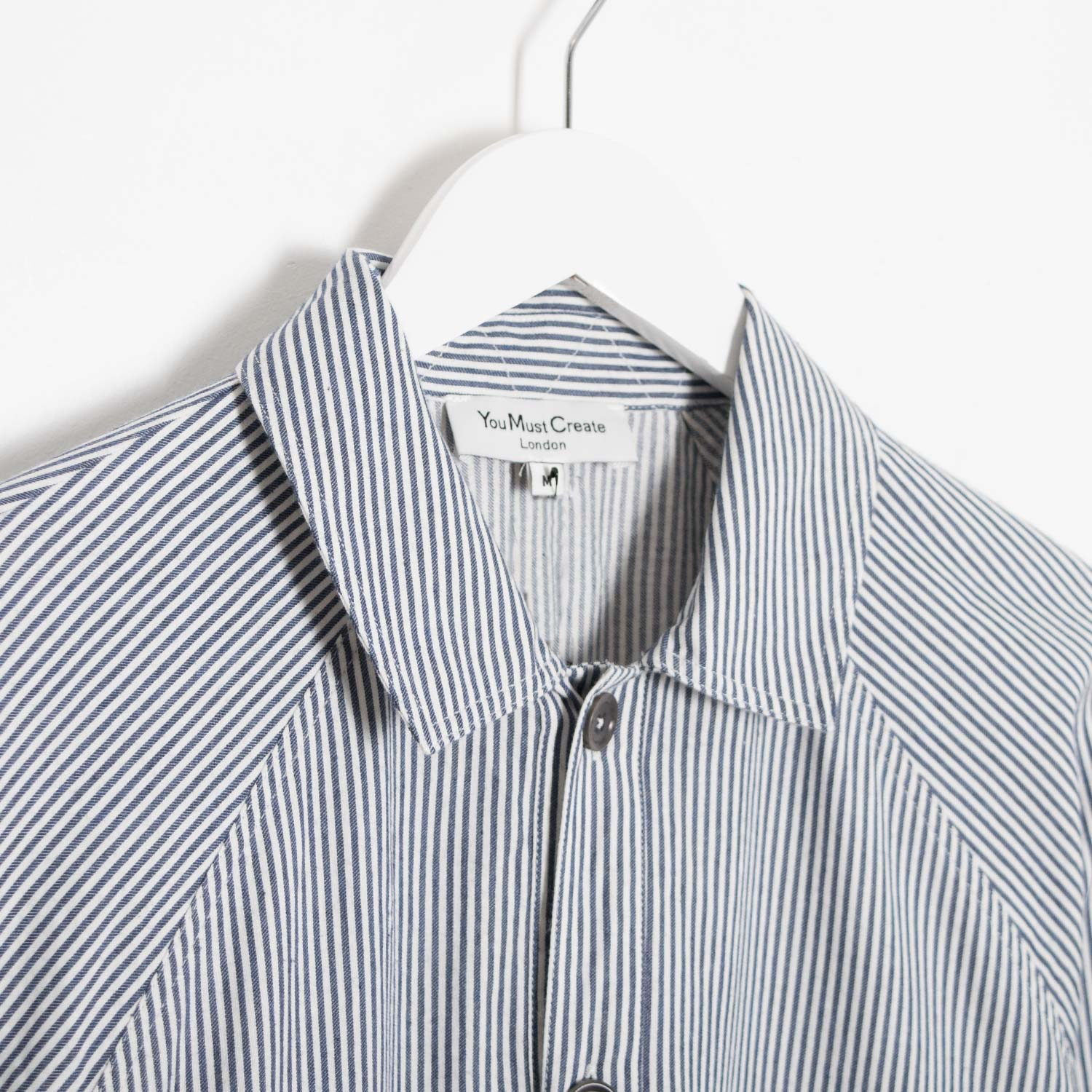 YMC Cool Hand Luke Shirt - Navy