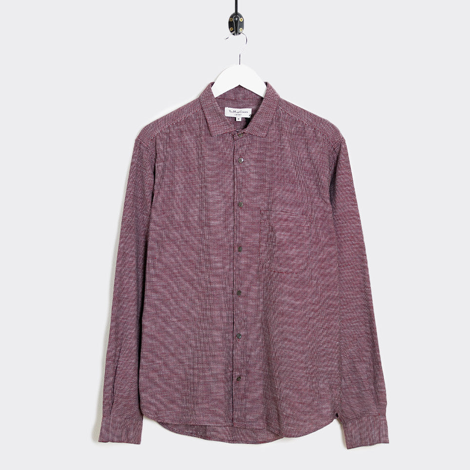 YMC Curtis Shirt - Red - 1