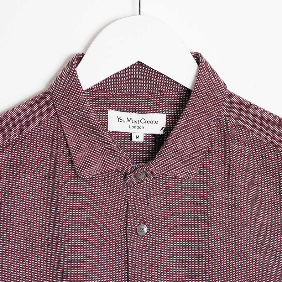 YMC Curtis Shirt - Red - 2