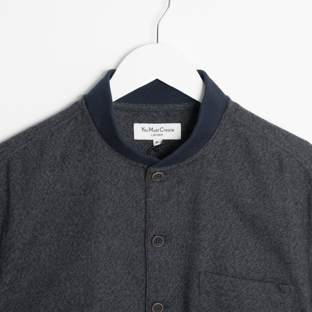 YMC Delinquents Shirt - Black  - CARTOCON