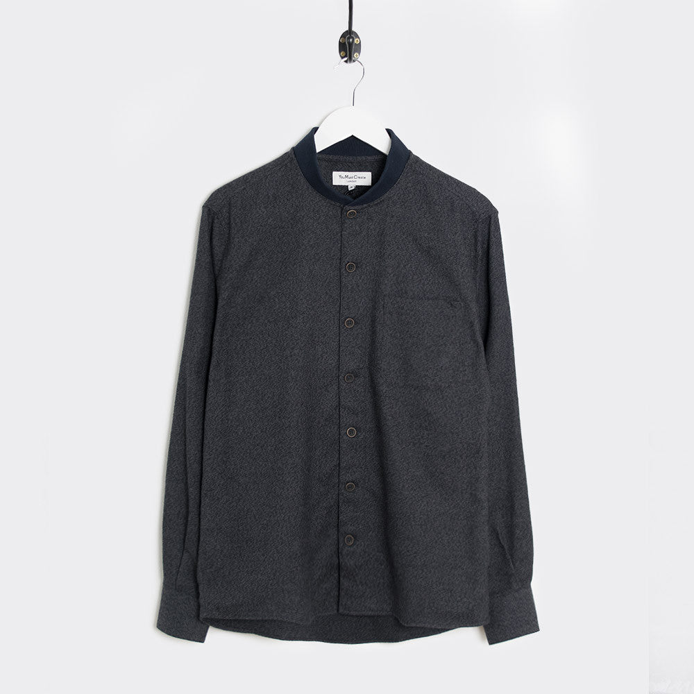 YMC Delinquents Shirt - Black - 1