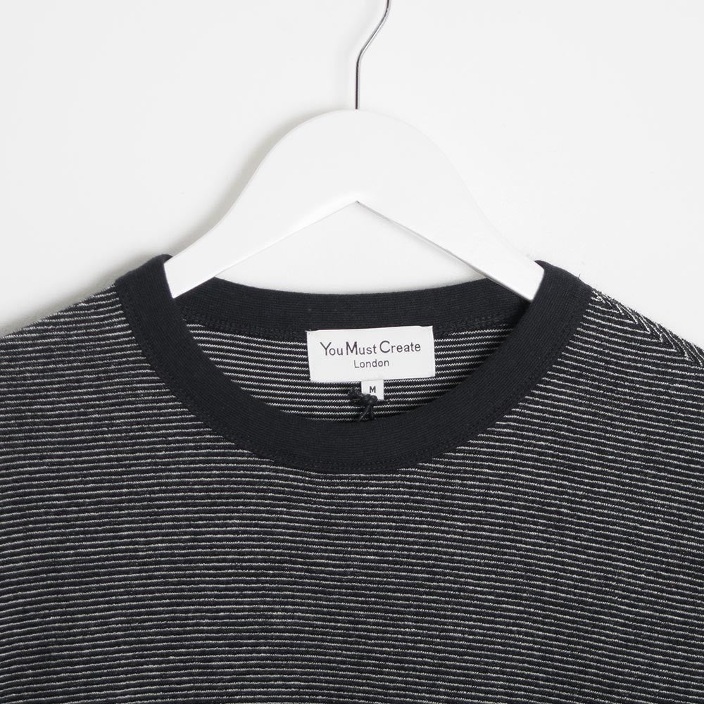 YMC Endless Summer Sweat - Black - 2