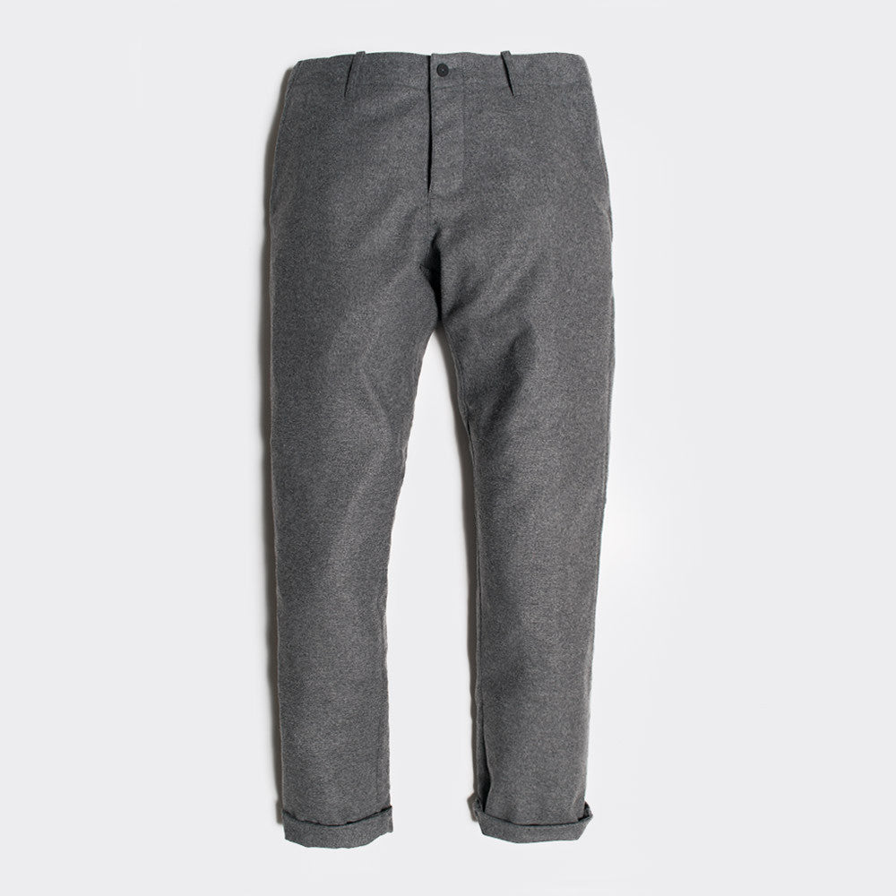 YMC Deja Vu Wool Trousers - Charcoal - 1