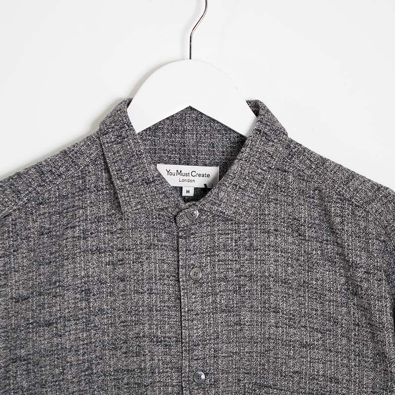YMC Curtis Shirt - Grey - 2