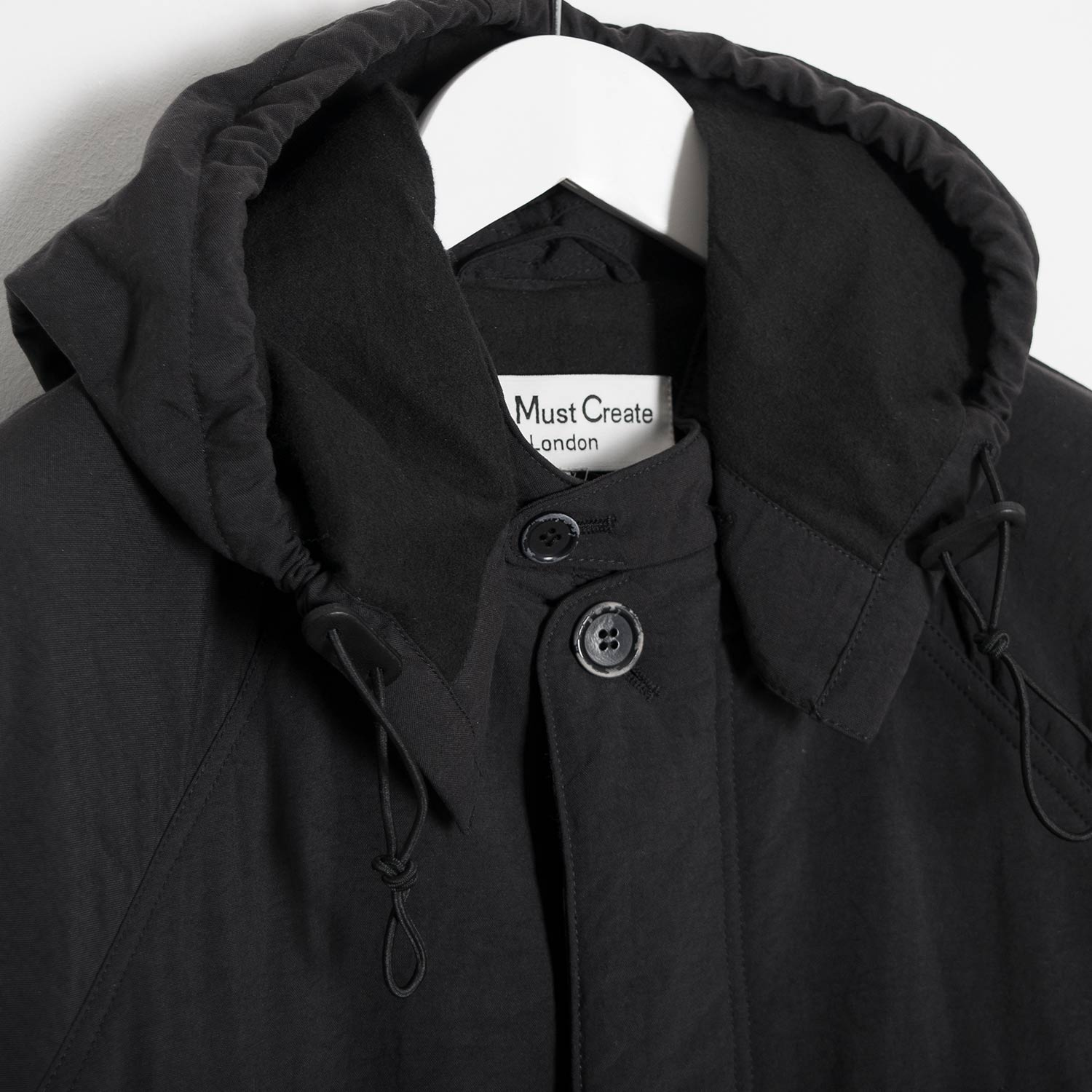 YMC Padded Inuit Parka - Black
