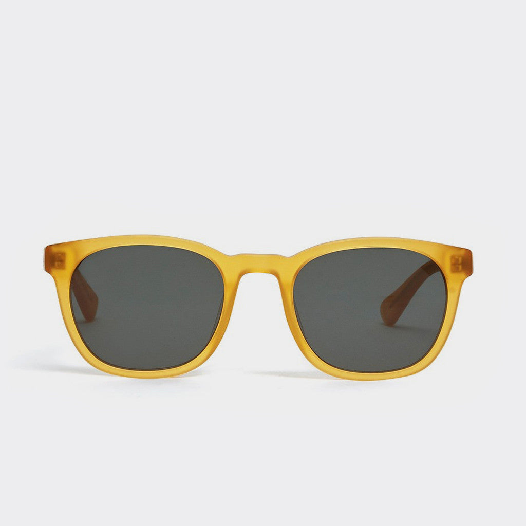 YMC Woody Sunglasses - Matte Honey