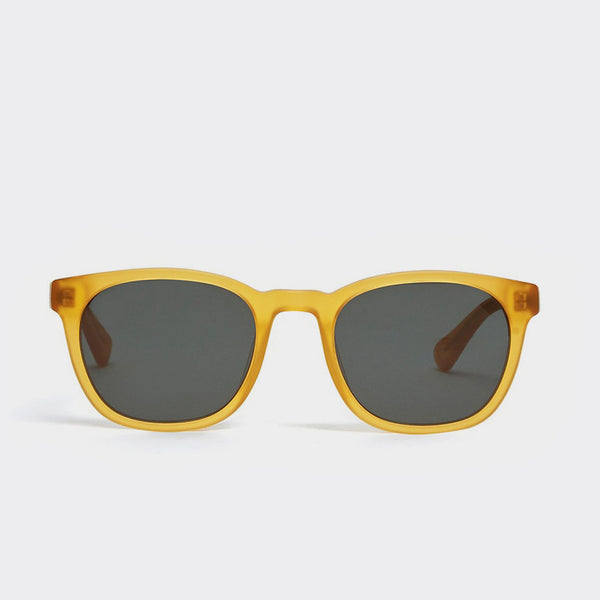 YMC Woody Sunglasses - Matte Honey  - CARTOCON