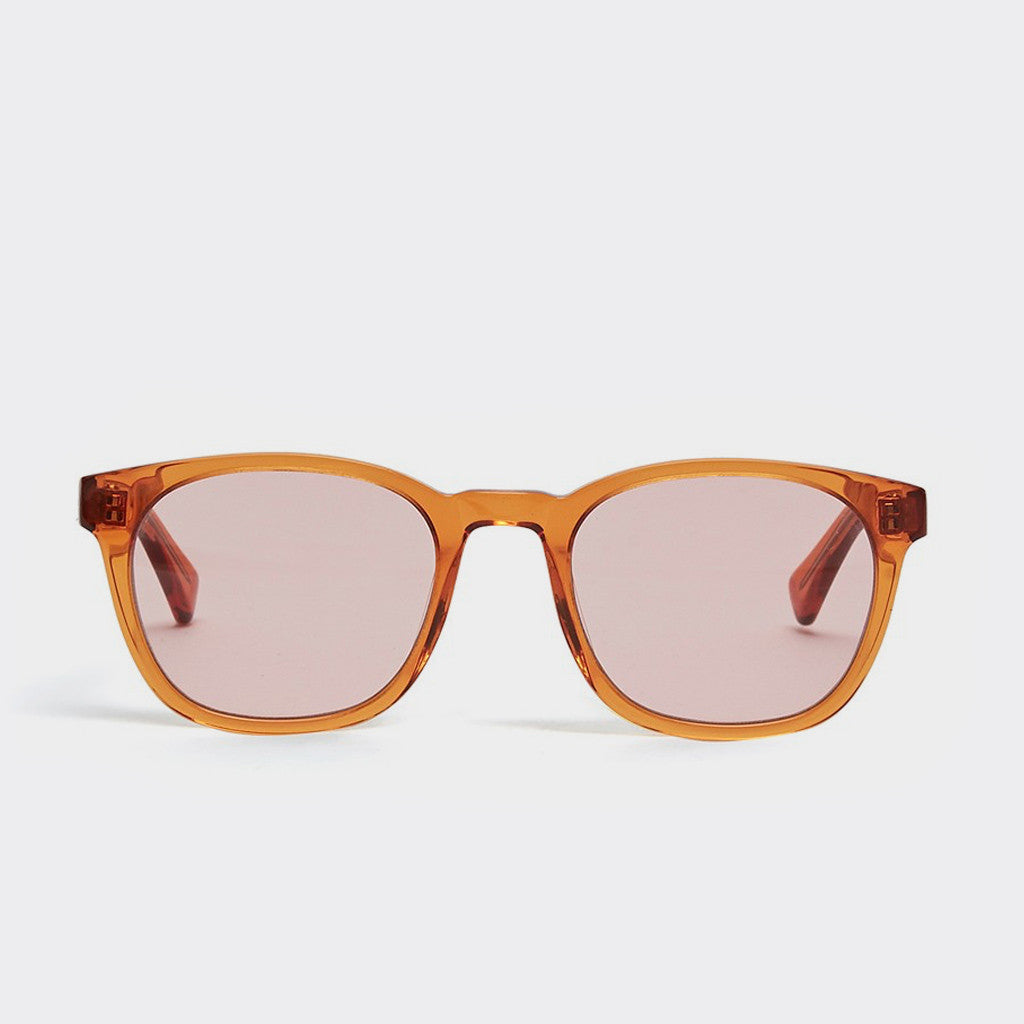 YMC Woody Sunglasses - Orange Crystal