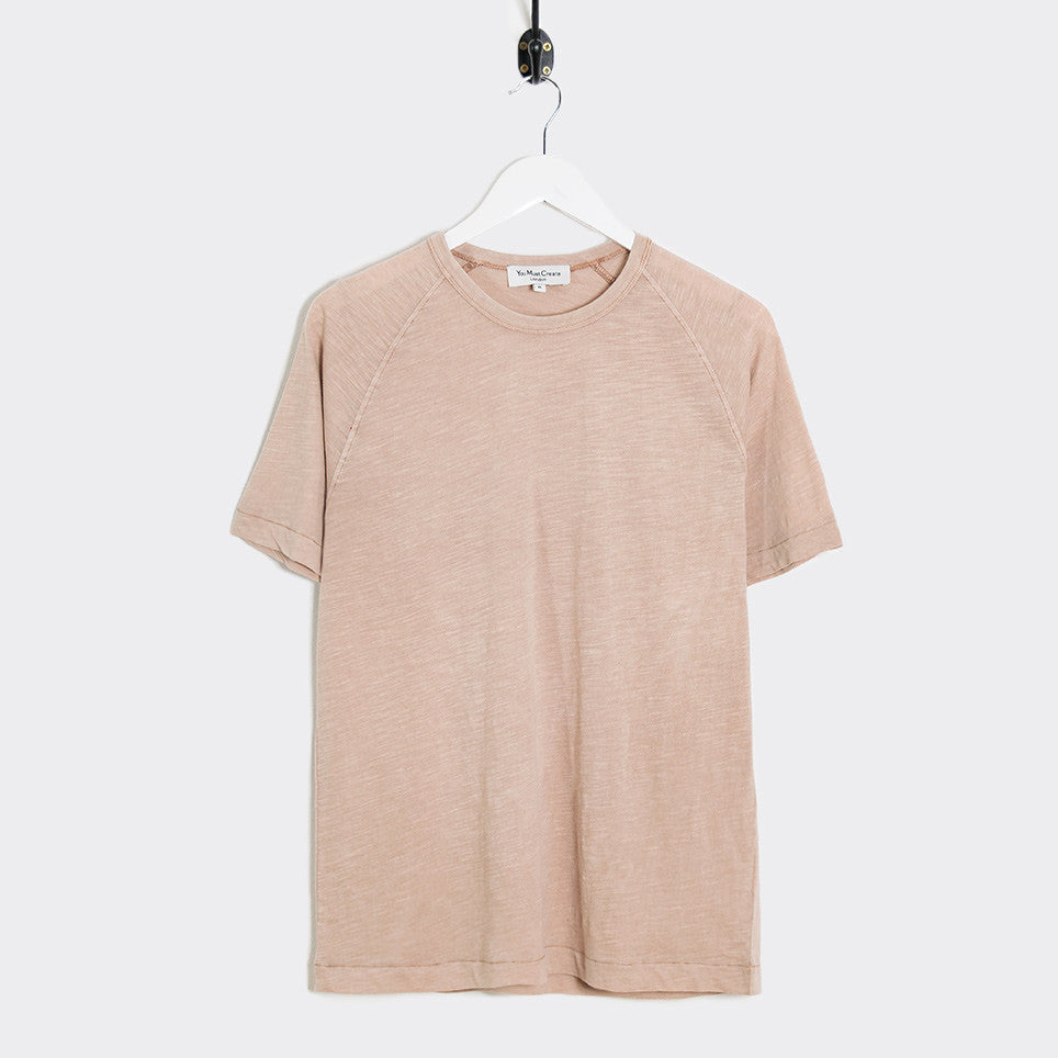 YMC Television T-Shirt - Pink - 1