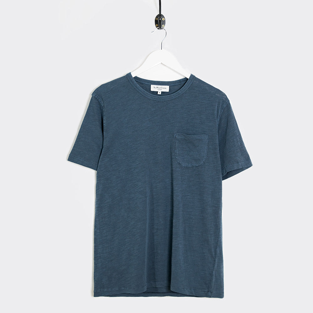 YMC Wild Ones Pocket T-Shirt - Navy - 1