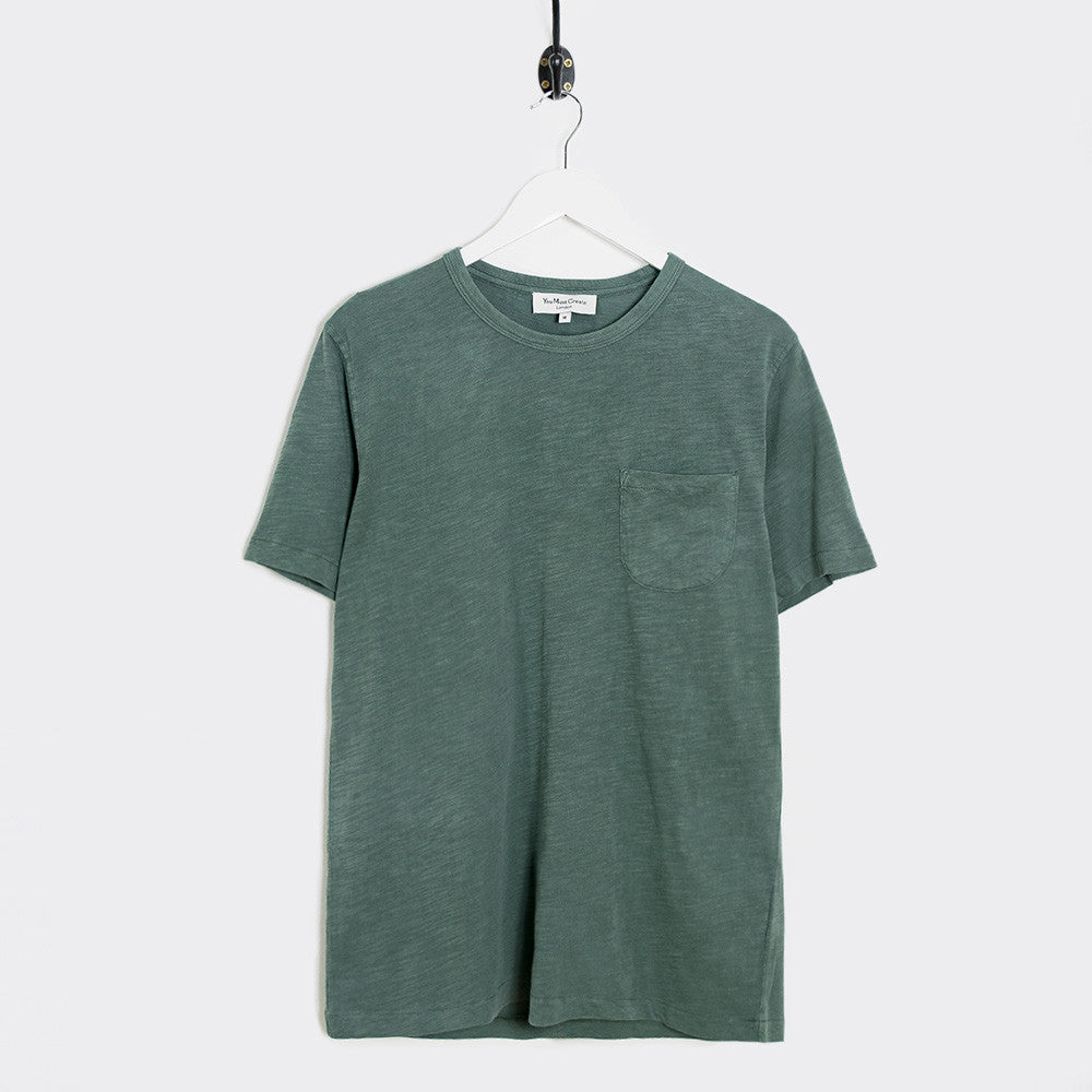 YMC Wild Ones Pocket T-Shirt - Green - 1