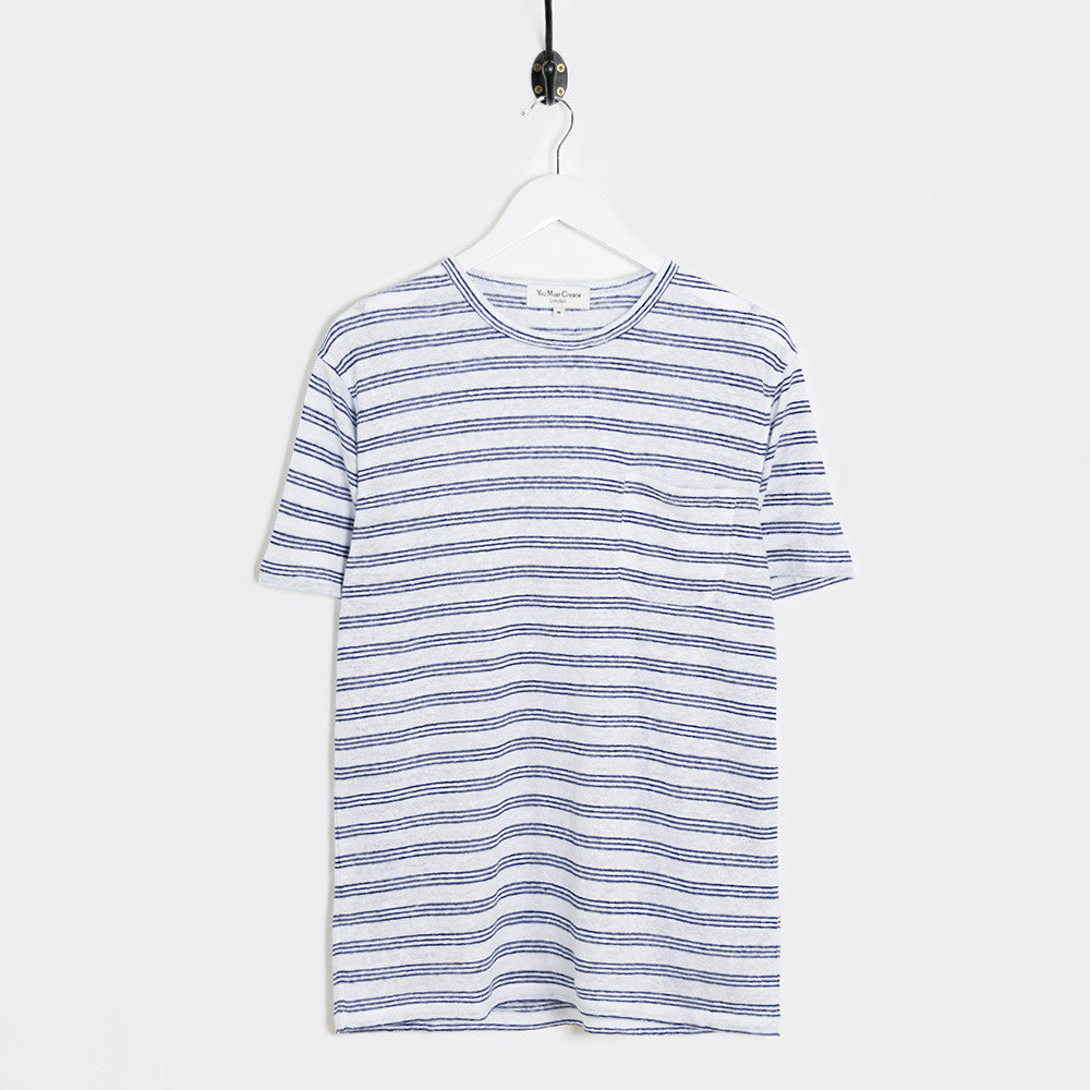 YMC Pugsley T-Shirt - Navy - 1