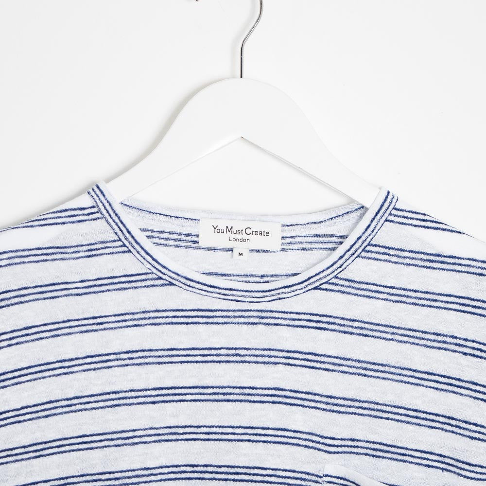 YMC Pugsley T-Shirt - Navy - 3