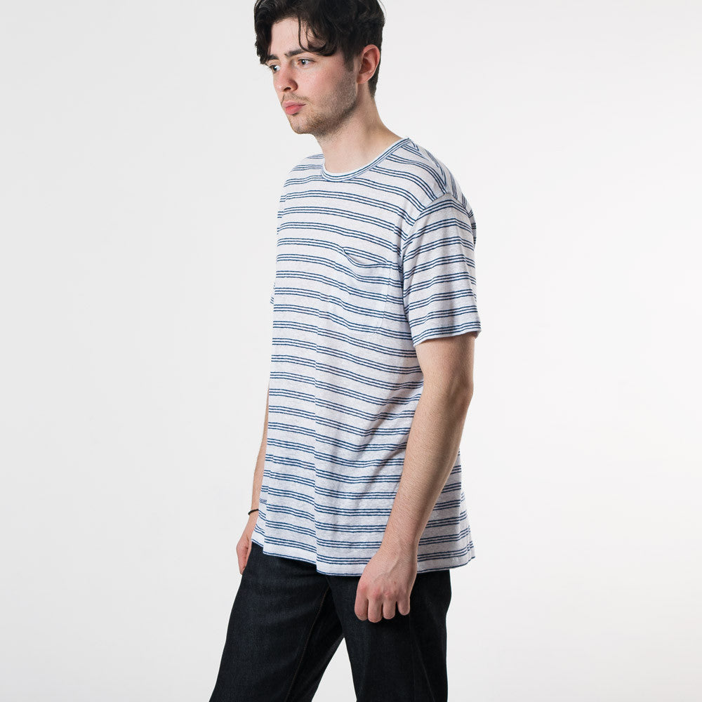 YMC Pugsley T-Shirt - Navy - 2