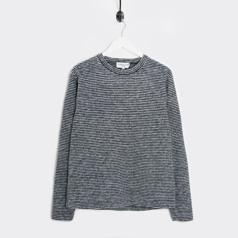 YMC Blue Cheer Sweat - Black/Grey - 1
