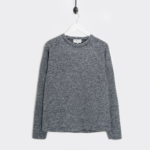 YMC Blue Cheer Sweat - Black/Grey  - CARTOCON
