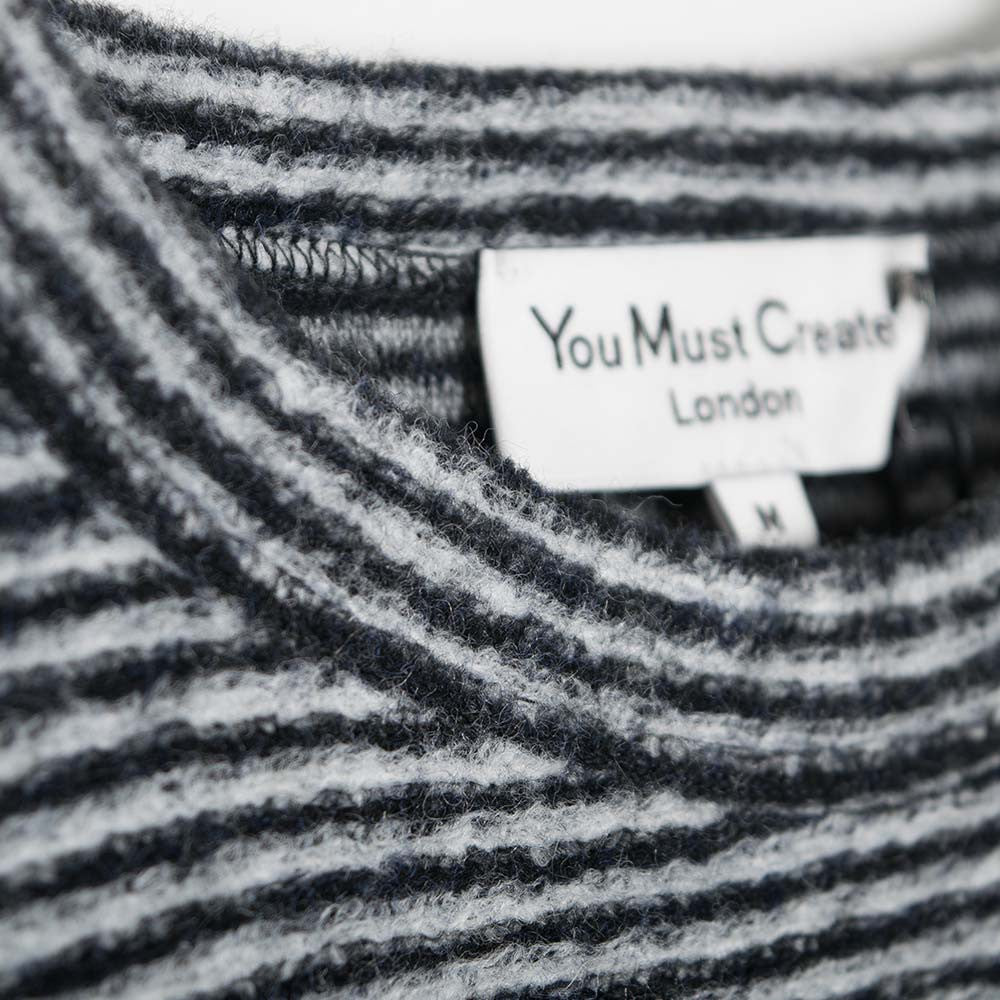 YMC Blue Cheer Sweat - Black/Grey - 3