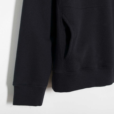 YMC Touche High Neck Pocket Sweat - Black  - CARTOCON
