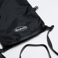 Sayhello Tokyo Cash Logo 2-Way Pouch - Black Bag - CARTOCON
