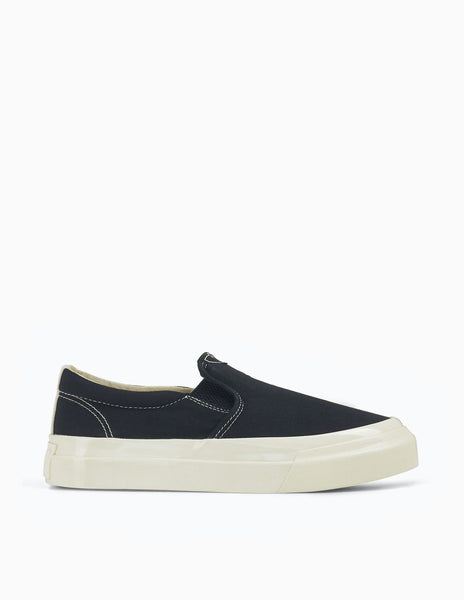 Stepney Workers Club Lister Slip-On Canvas - Black/White
