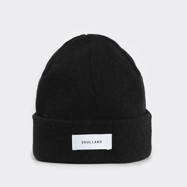 Soulland Villy Beanie – Black Hat - CARTOCON