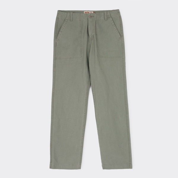 Satta Utility Pants - Stone Green  - CARTOCON