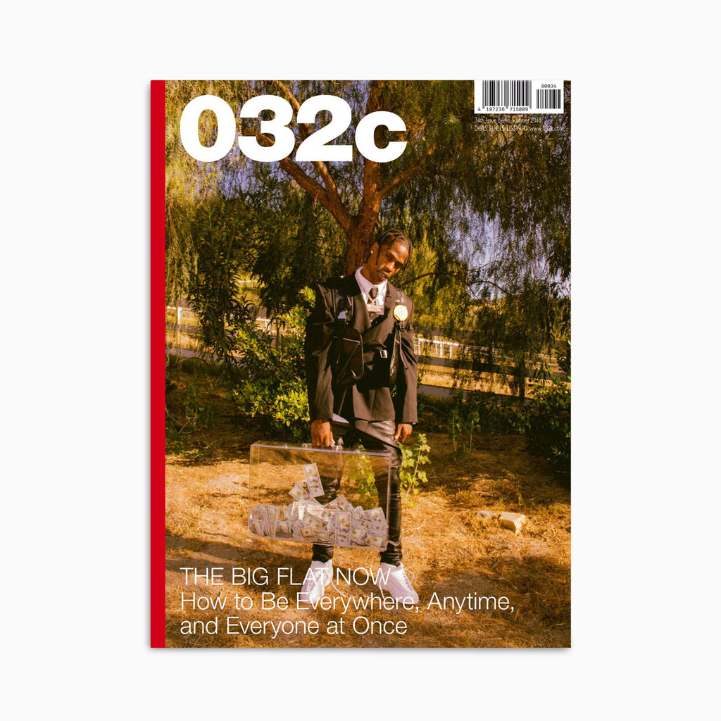 032C Magazine - Issue 34 Summer 2018 - Travis Scott Magazine - CARTOCON
