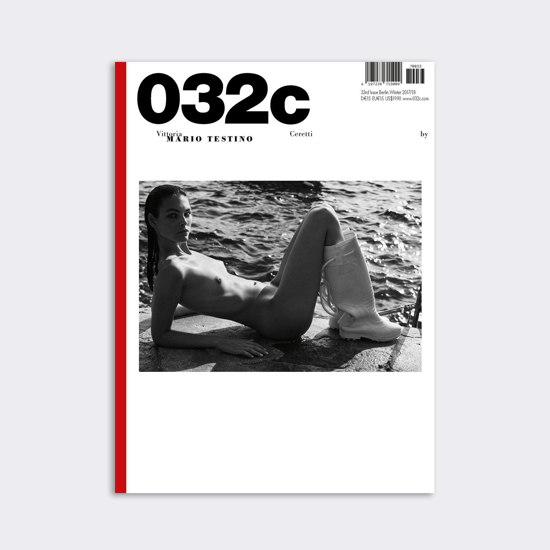 032C Magazine - Issue 33 Winter 2017 Berlin Kidz - Mario Testoni