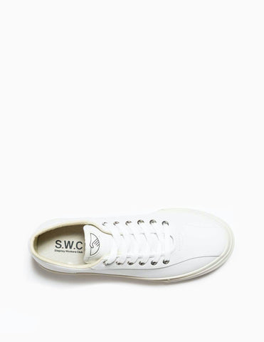 Stepney Workers Club Dellow Leather - White Footwear - CARTOCON