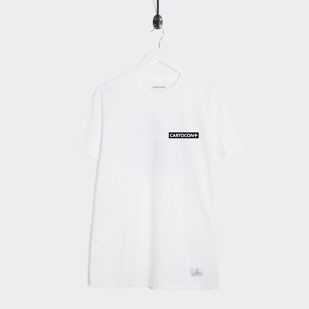 Cartocon Canal T-Shirt - White