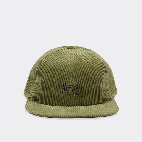 Heresy Cord Cap - Green Hat - CARTOCON
