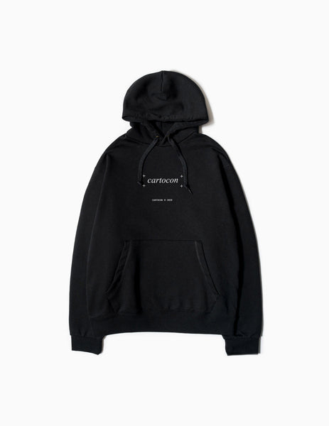 CARTOCON Times New Hoody - Black