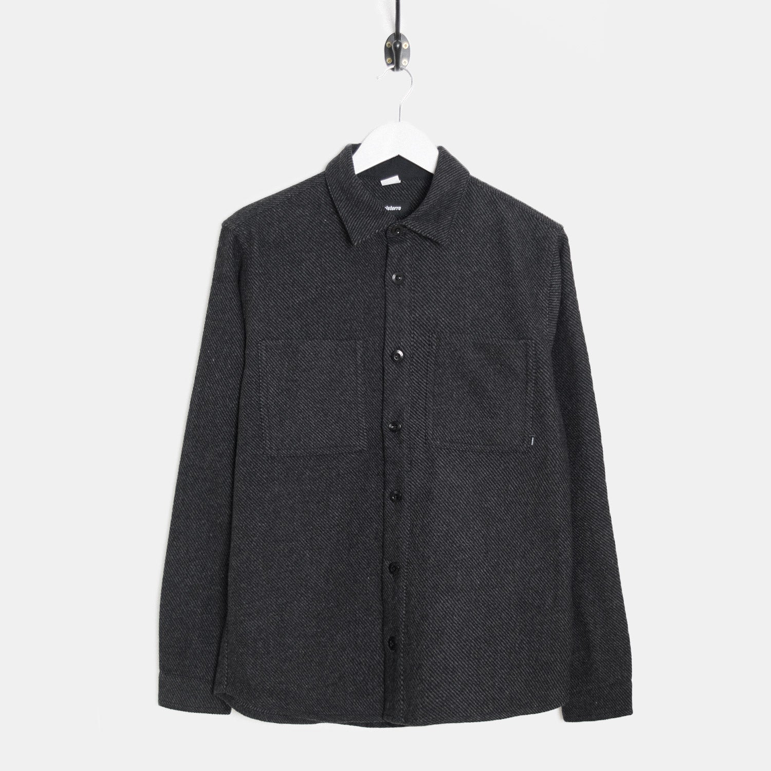 Finisterre Orbis Shirt - Charcoal Shirt - CARTOCON