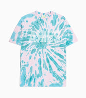 Aries Go Your Own Way Tie Dye T-Shirt - Green/Pink T-Shirt - CARTOCON