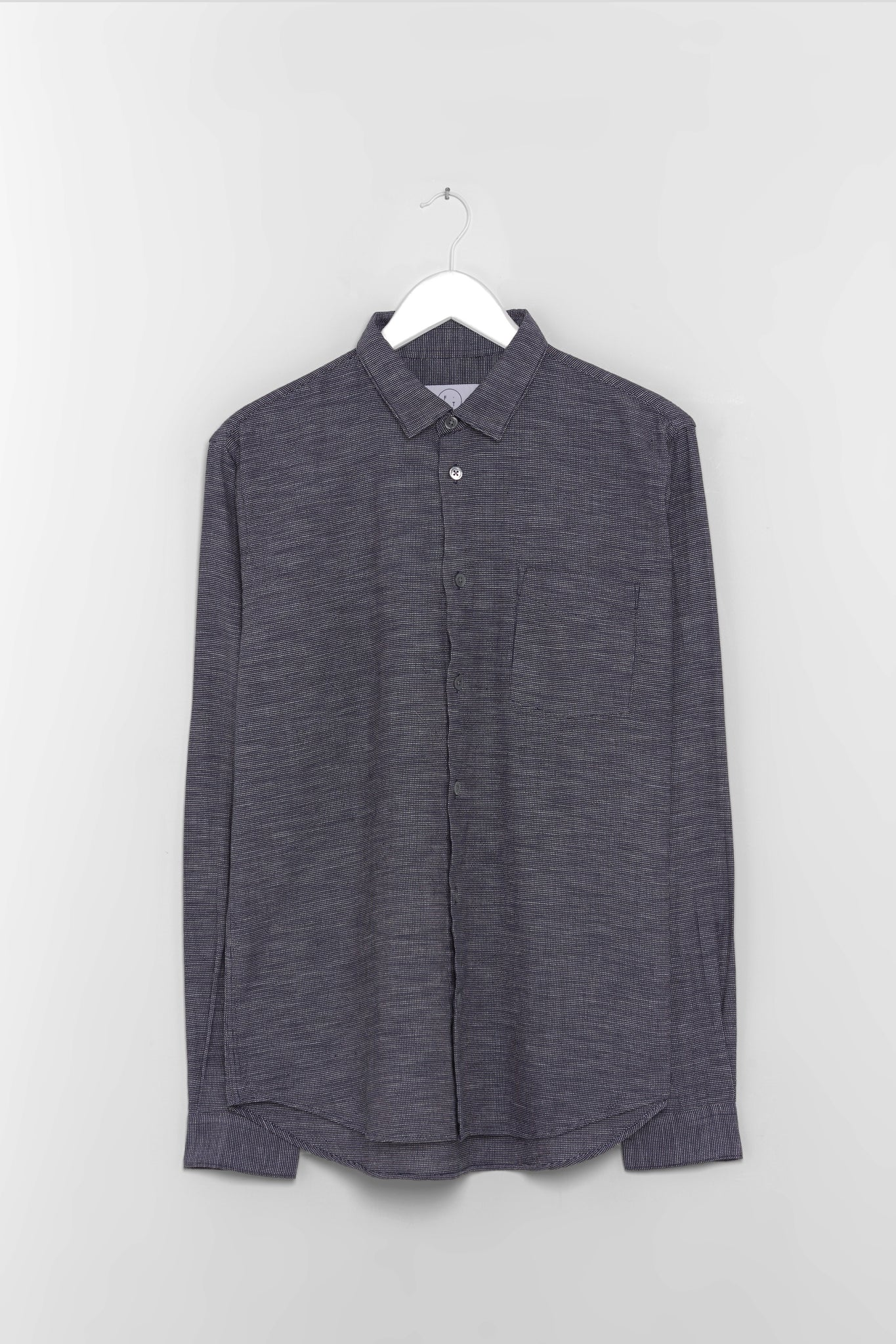Form & Thread Essential Shirt - Navy Needlepoint Check