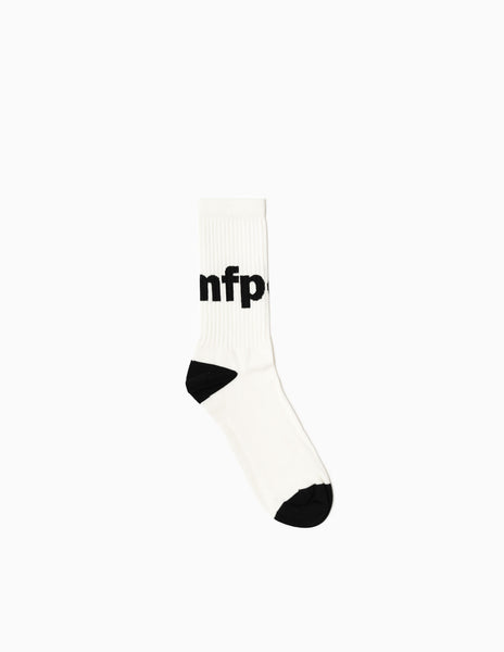 mfpen Tennis Hi Socks - White Socks - CARTOCON