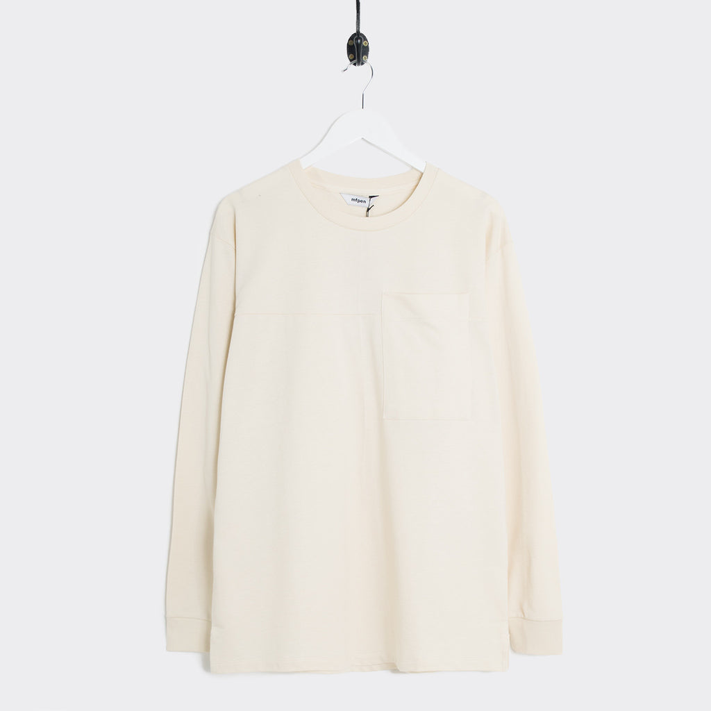 mfpen 01 Pocket Longsleeve - Off White